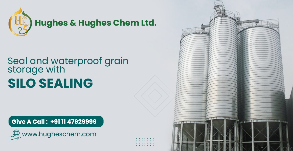 Seal and Waterproof Grain Storage with Silo Sealing