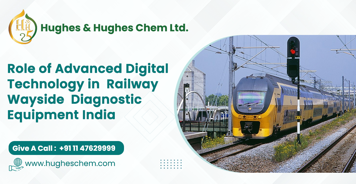 Role of Advanced Digital Technology in Railway Wayside Diagnostic Equipment India