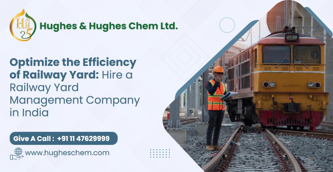 railway yard management company in india